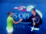 Camilla e Denis all'Us open