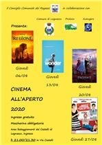 Locandina cinema all'ìaperto